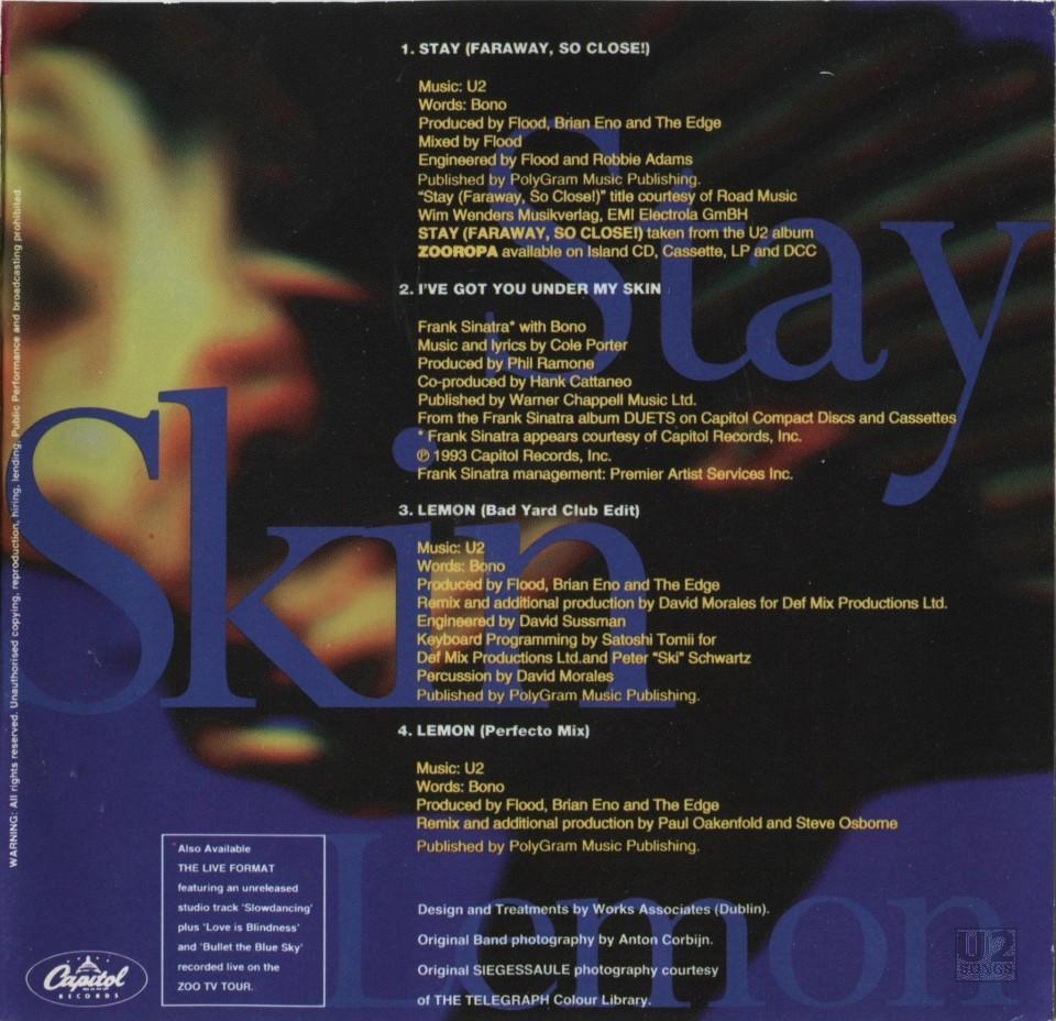 Stay u2 lyric