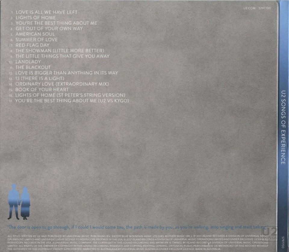 u2 songs of experience download rar