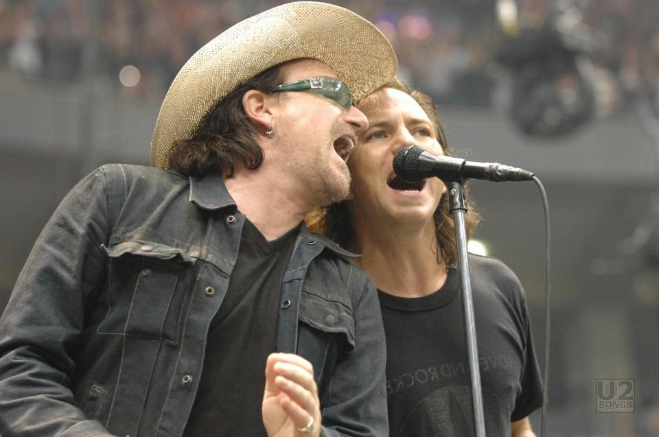 u2songs | Pearl Jam -