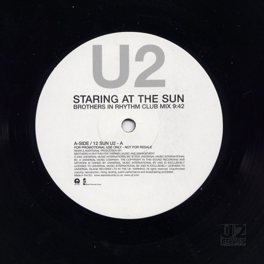 u2songs | The History Mix: U2-Ten Mixes |