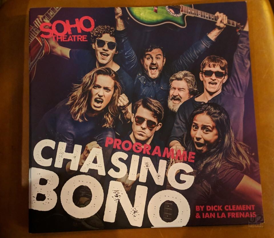 chasing bono - programme