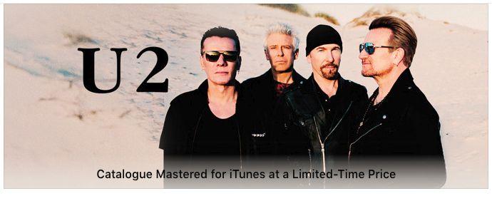 u2songs | Apple issues new Versions of U2 Albums